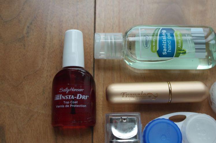Les produits liquides en cabine 3