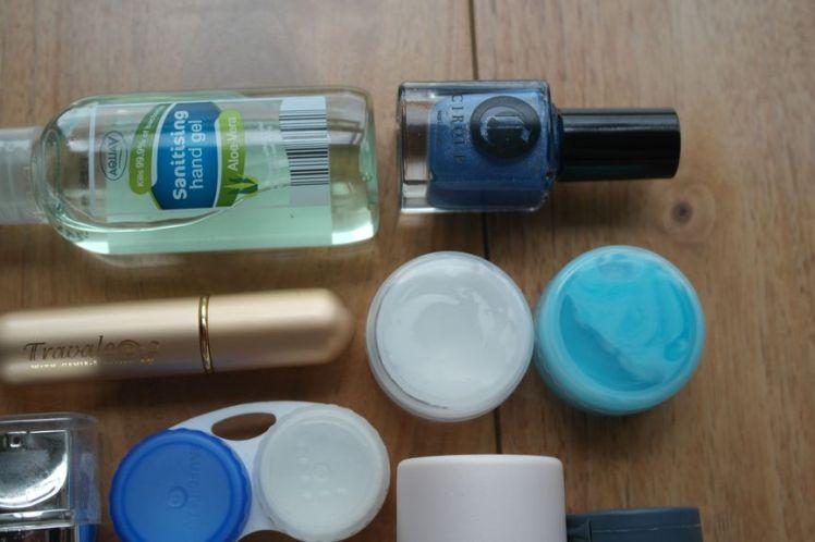 Les produits liquides en cabine 4