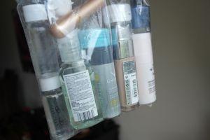 Les produits liquides en cabine 5