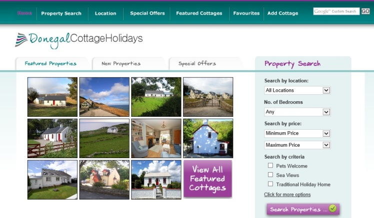 Donegal Cottage Holiday