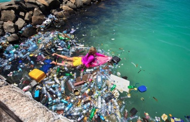 Alison Teal aux Maldives