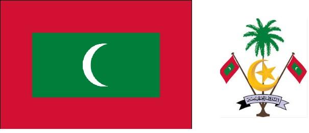 Maldives Drapeau