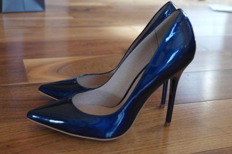 Buffalo Heels Blue - Escarpins - Bleu C