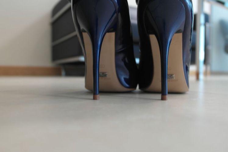 Buffalo Heels Blue - Escarpins - Bleu G