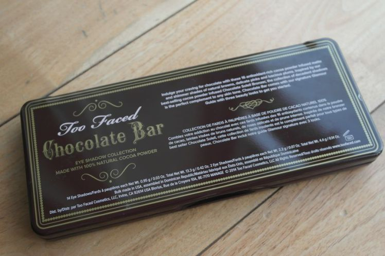 Too Faced - Chocolate Bar 9