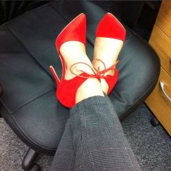 Escarpins rouges - Kurt Geiger - Red Heels F
