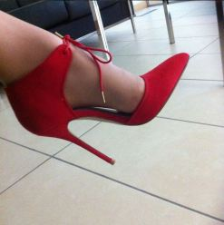 Escarpins rouges - Kurt Geiger - Red Heels G