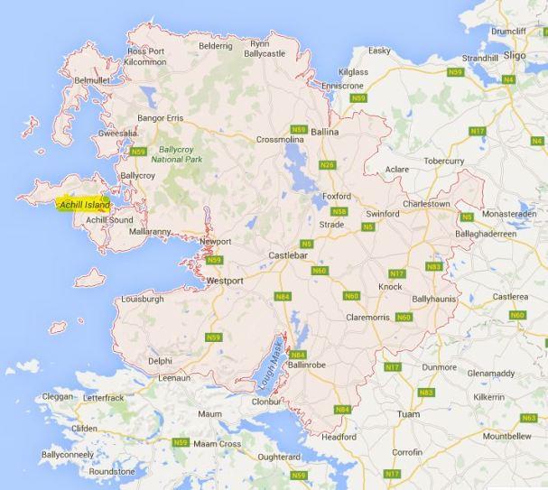 Irlande - Comté Mayo - Découvrir l'Irlande ZI