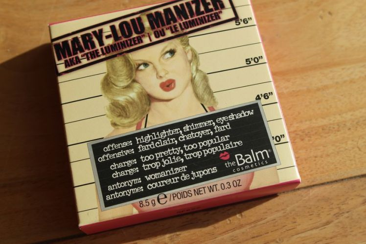 The Balm - Mary-Lou Manizer The Luminizer F