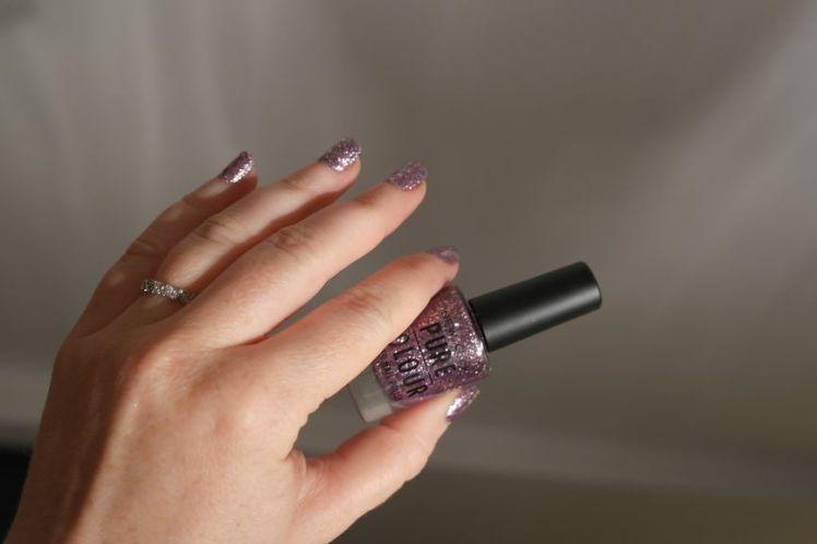 Vernis New Look - Pure Colour - 59 Purple Pattern D