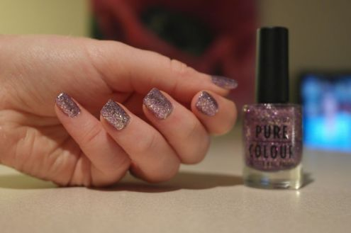 Vernis New Look - Pure Colour - 59 Purple Pattern F