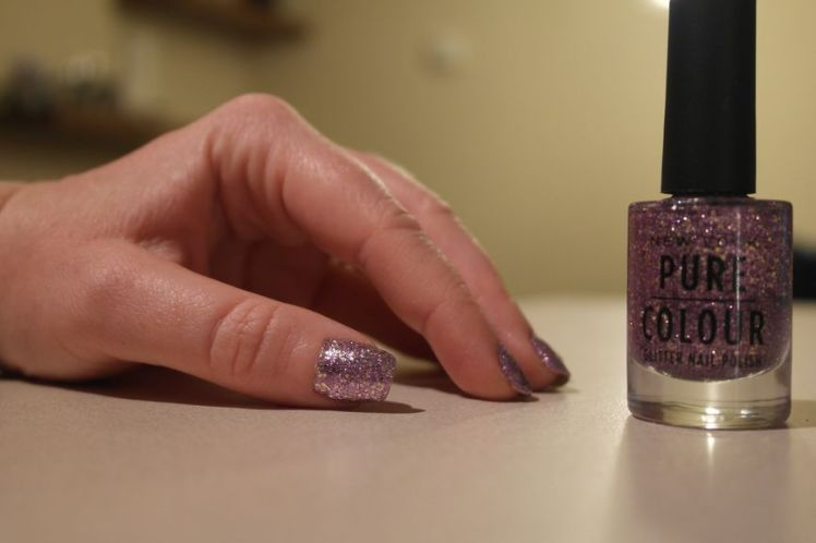 Vernis New Look - Pure Colour - 59 Purple Pattern G
