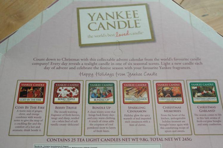 Yankee Candle Calendrier de l'Avent - Advent Calendar D
