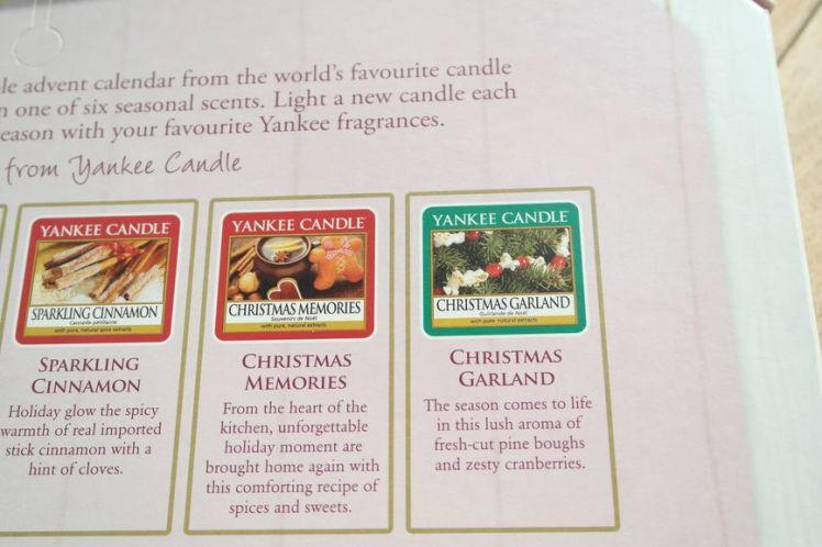 Yankee Candle Calendrier de l'Avent - Advent Calendar G