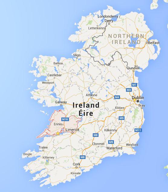 Ireland - County Clare - Vernie Par La Vie ZY