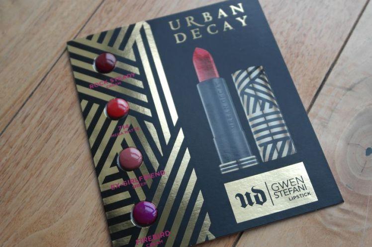 Urban Decay X Gwen Stefani palette revue B