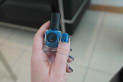 Cirque Colors - Qi - Vernis bleu doré - J'adore le bleu - Bleu Turquoise - Vernie Par la Vie