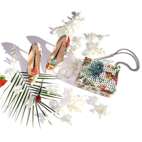 Escarpins Christian Louboutin Hawaii Kawaii Hawaiian collection Pigalle Follies Vernie Par La Vie P