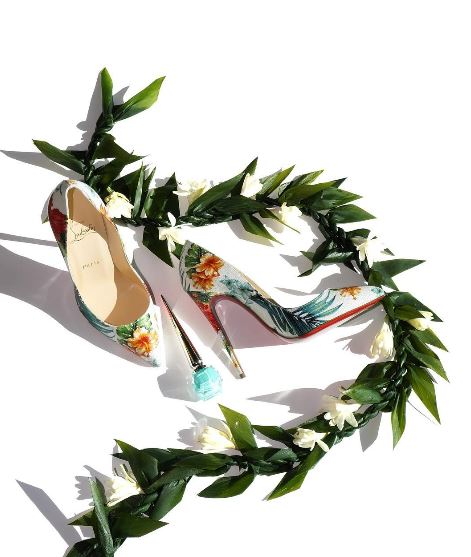 Escarpins Christian Louboutin Hawaii Kawaii Hawaiian collection Pigalle Follies Vernie Par La Vie X