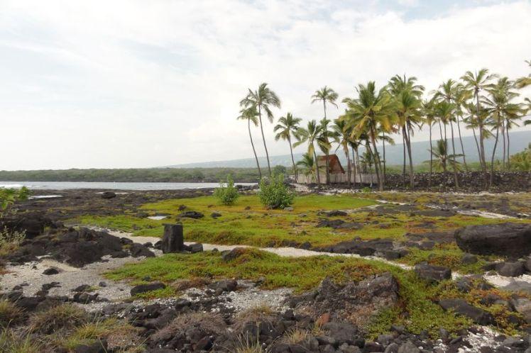 Voyage de noces à Hawaï - Big Island - Vernie par la Vie - M - Pu'uhona O Honauau National Historical Park