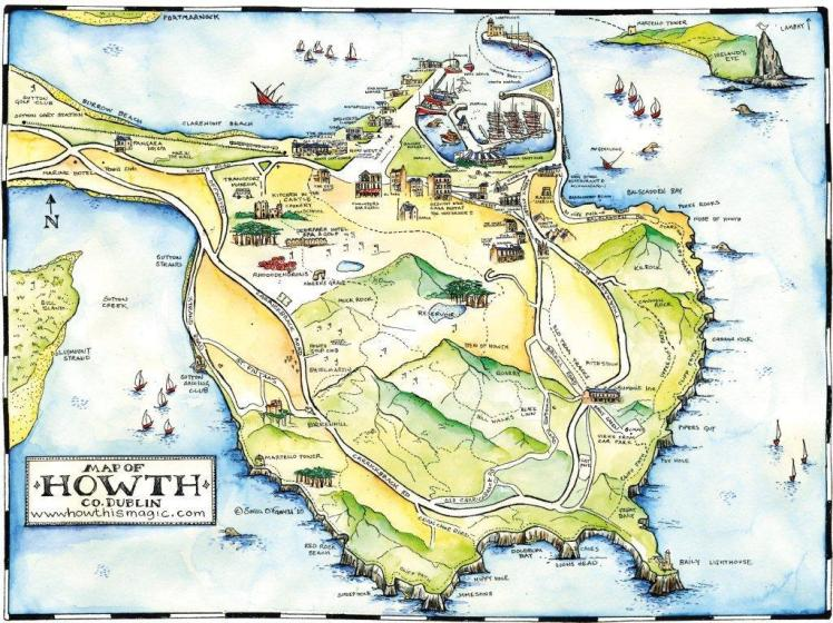 County Dublin - Howth Vernie par la vie ZD
