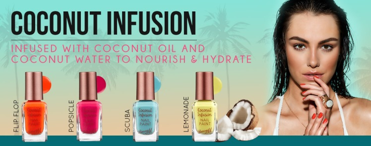 Barry M Nails - Coconut Infusion - All