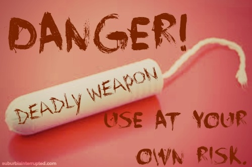 Tampons - Danger 1
